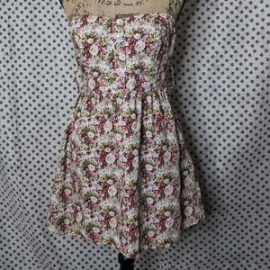Price ⬇️ Strapless floral dress